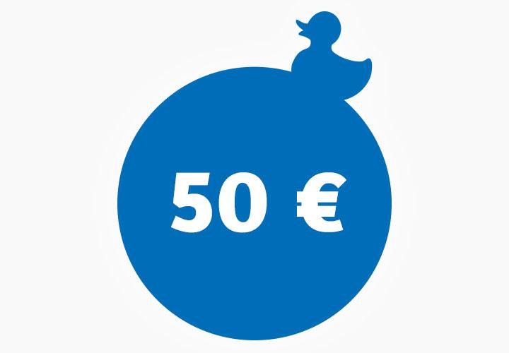 Wertgutschein 50,00 €